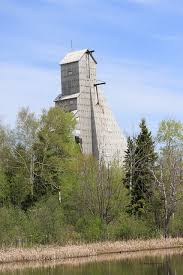 The McIntyre Mine Headframe in Schumacher