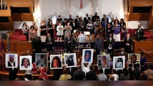 Recent killing of 9 innocent people at a Church Prayer group will do little to curb enthusiasm for free access to guns in America.      Photo courtesy of ABC News