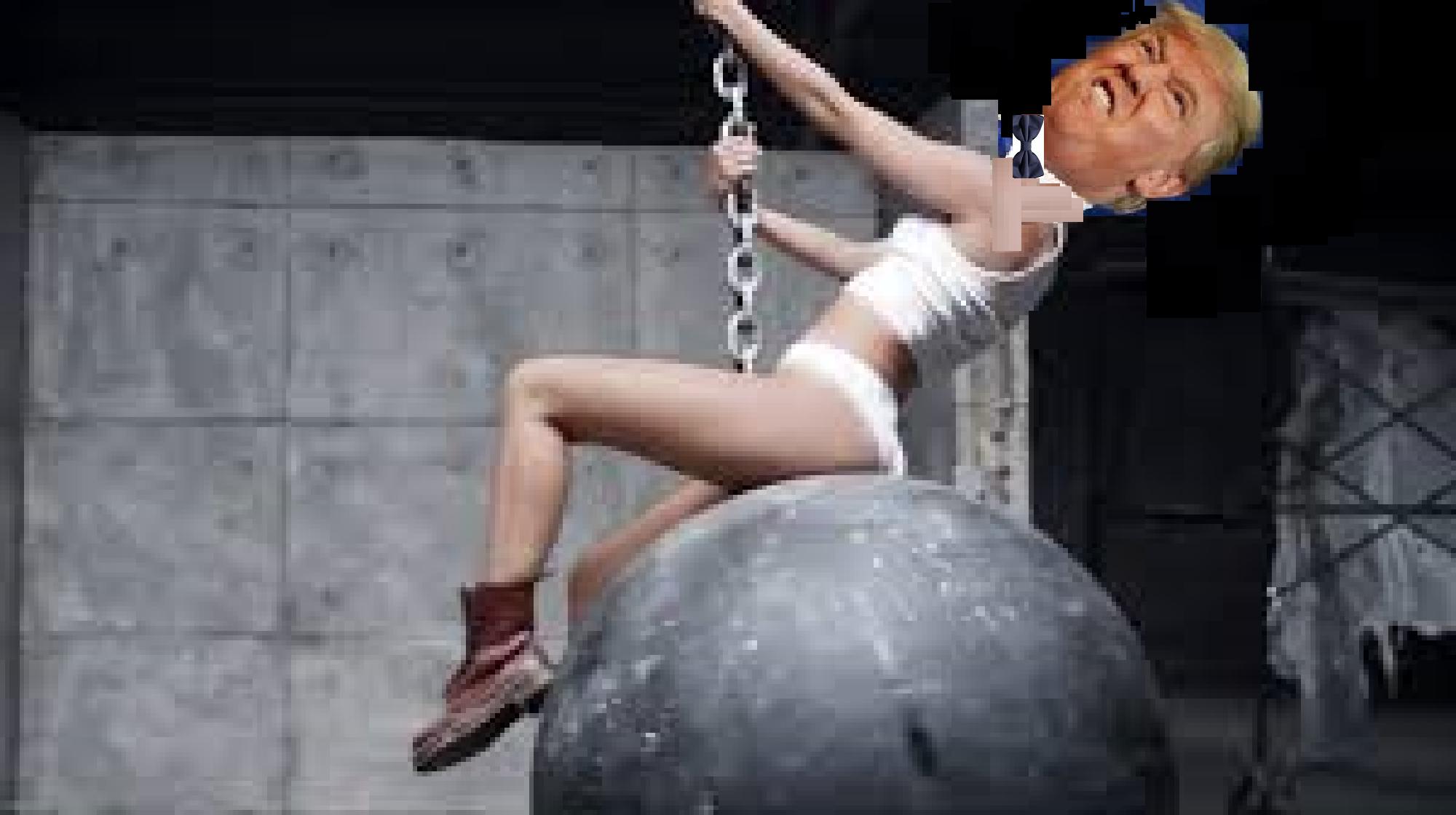 Wrecking Ball Trump