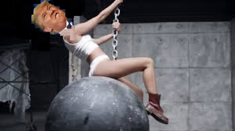 Wrecking Ball Trump