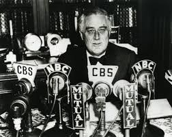 FDR at the mikes