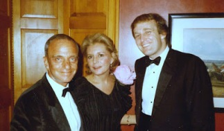 ! Trump Roy Cohn Barbara Walters, a long time Trump friend.